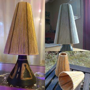 Lampskärmar till Munkkeramiklampor