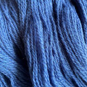 Järbo tvåtrådig ull. Färg 74136 Bohemian Blue